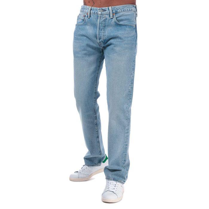 Men's Levis 501 Original Fit Jeans in Denim