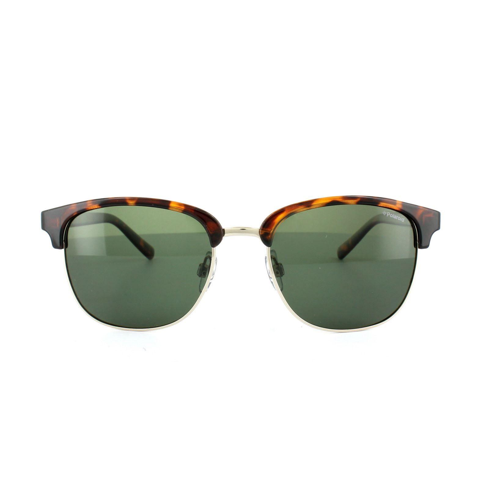 Polaroid Sunglasses 1012/S PR6 H8 Havana Green Polarized