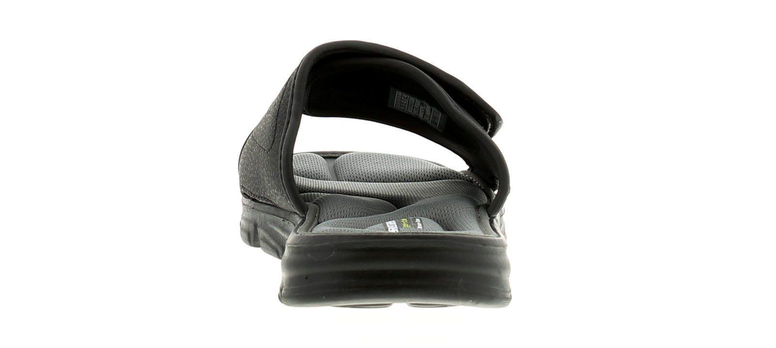 Skechers Wind Swell Men's Beach Sandals in Black