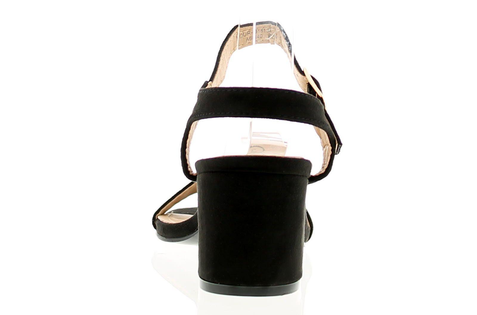 Apache Sinita Womens Ladies Shoes Black
