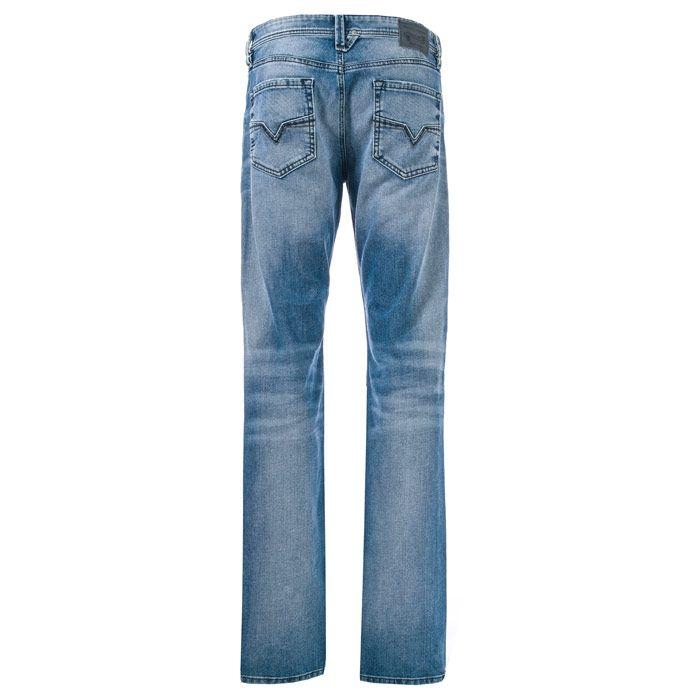 Men's Diesel Larkee Straight Leg Jeans in Denim