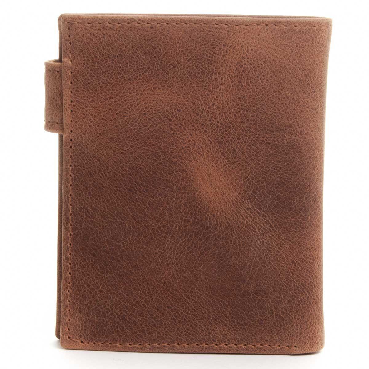 Montevita Leather Wallet in Camel