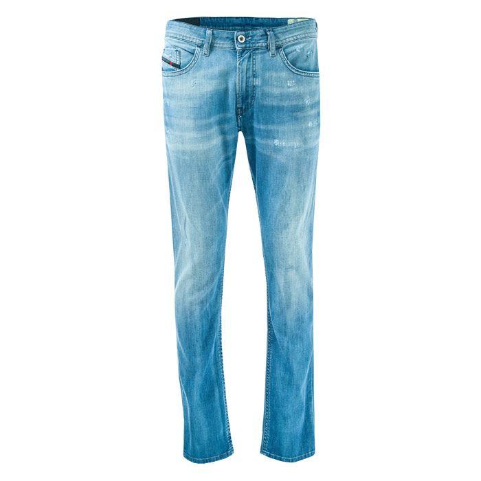 Men's Diesel Thommer Slim Fit Jeans in Denim