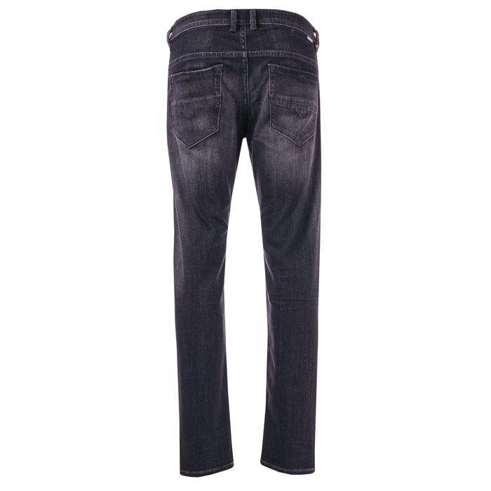 Men's Diesel Thommer Slim Fit Jeans in Black