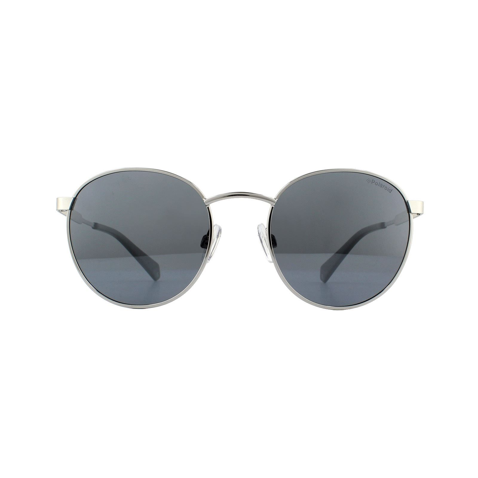 Polaroid Sunglasses PLD 2053/S 010 EX Palladium Grey Silver Mirror Polarized