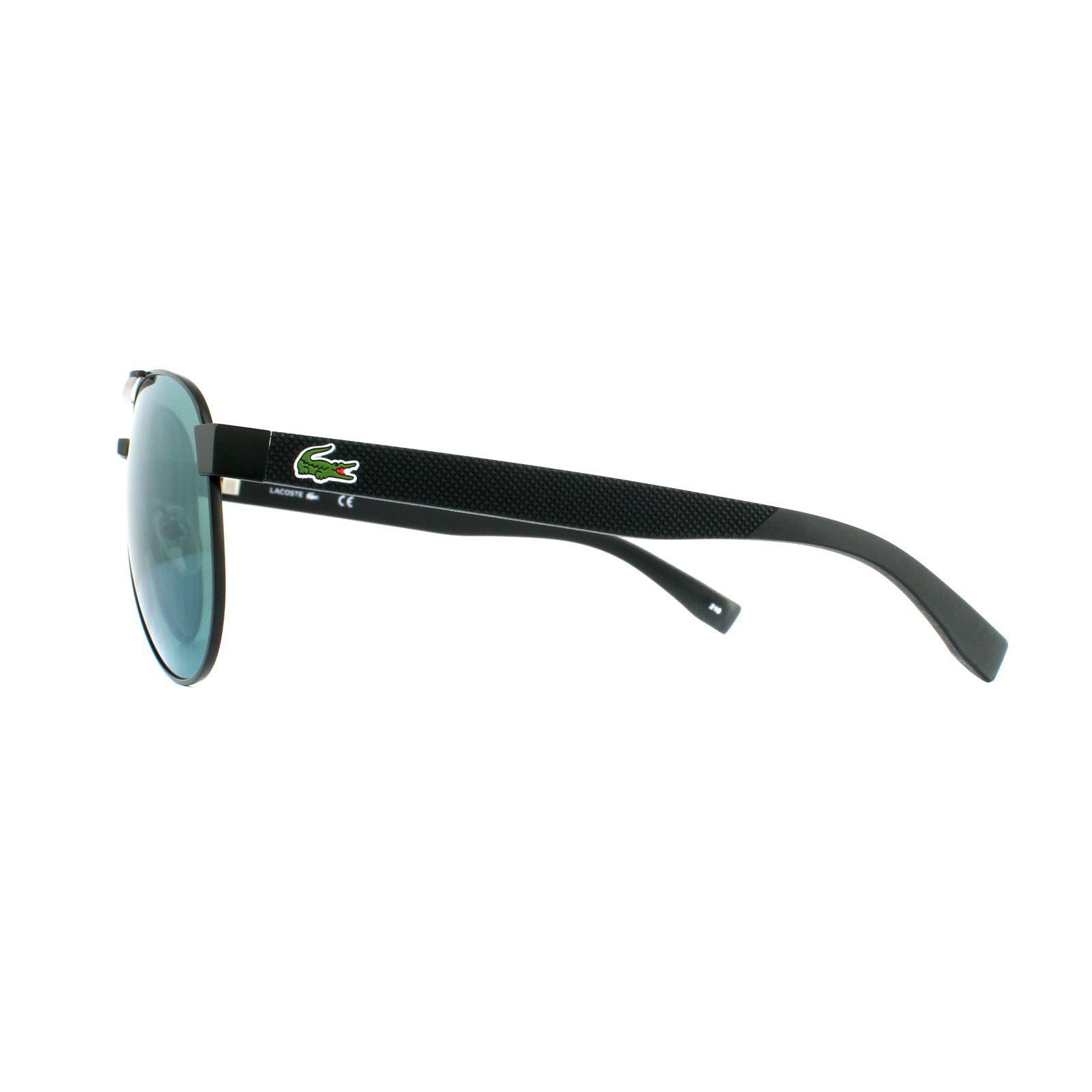 Lacoste Sunglasses L185S 315 Aviator Matte Green Green Mirror