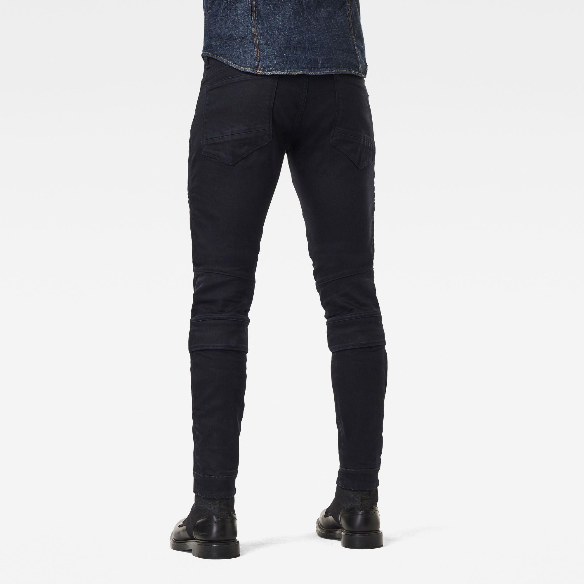 G-Star RAW Airblaze 3D Skinny Originals Pitch Black Jeans