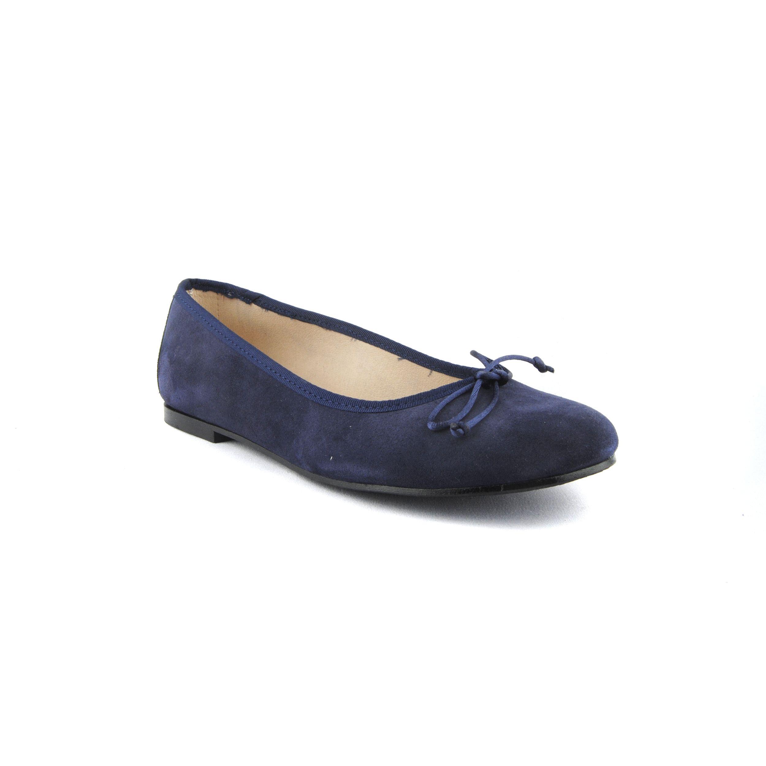 Purapiel Ballet Flat in Blue