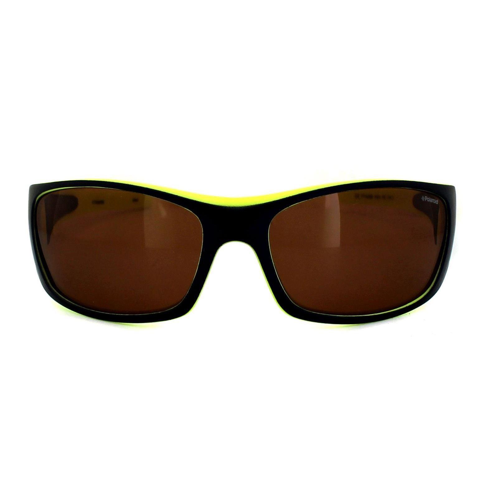 Polaroid Sport Sunglasses P7420 KEA HE Blue & Lime Copper Polarized