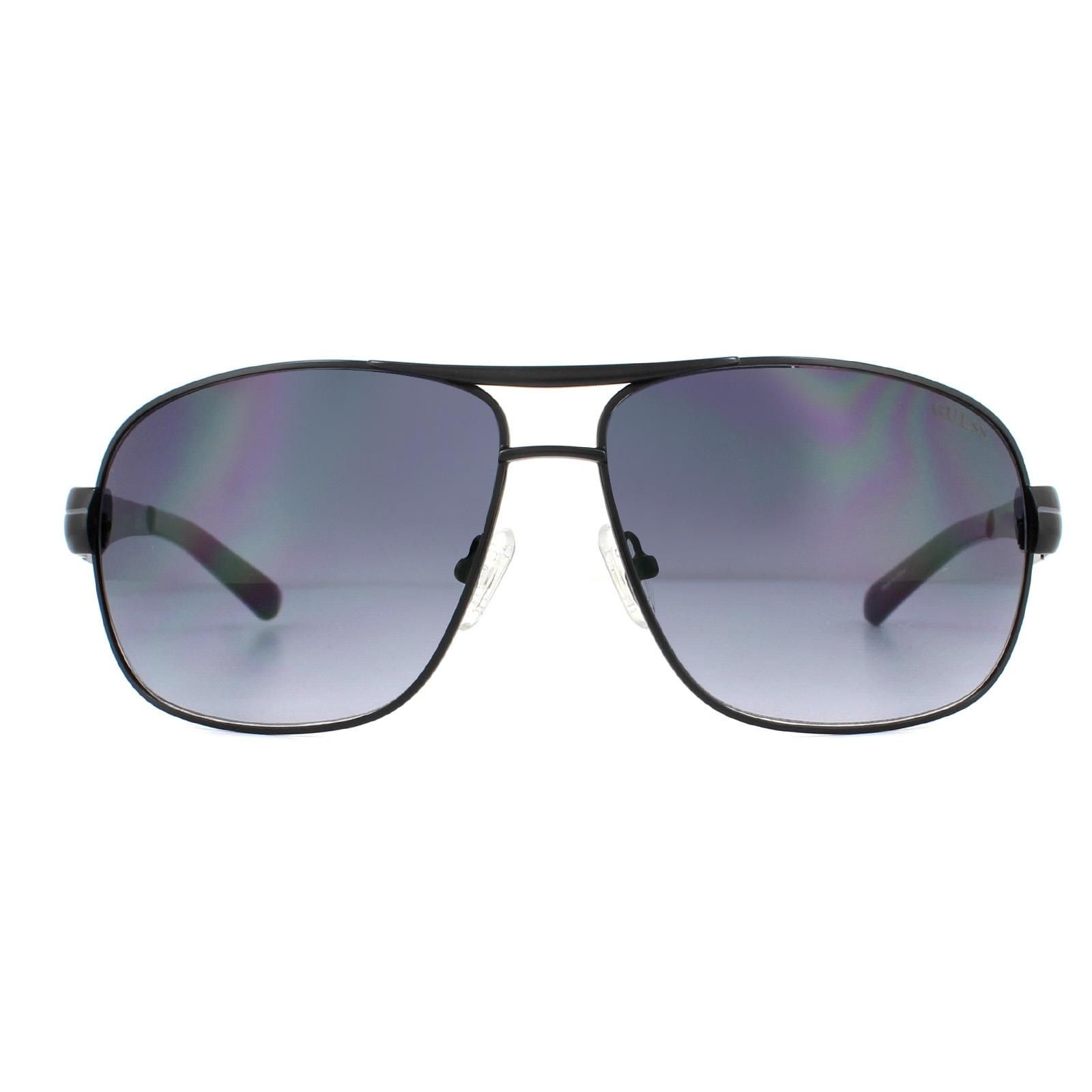Guess Sunglasses GF5021 02B Black Grey Gradient