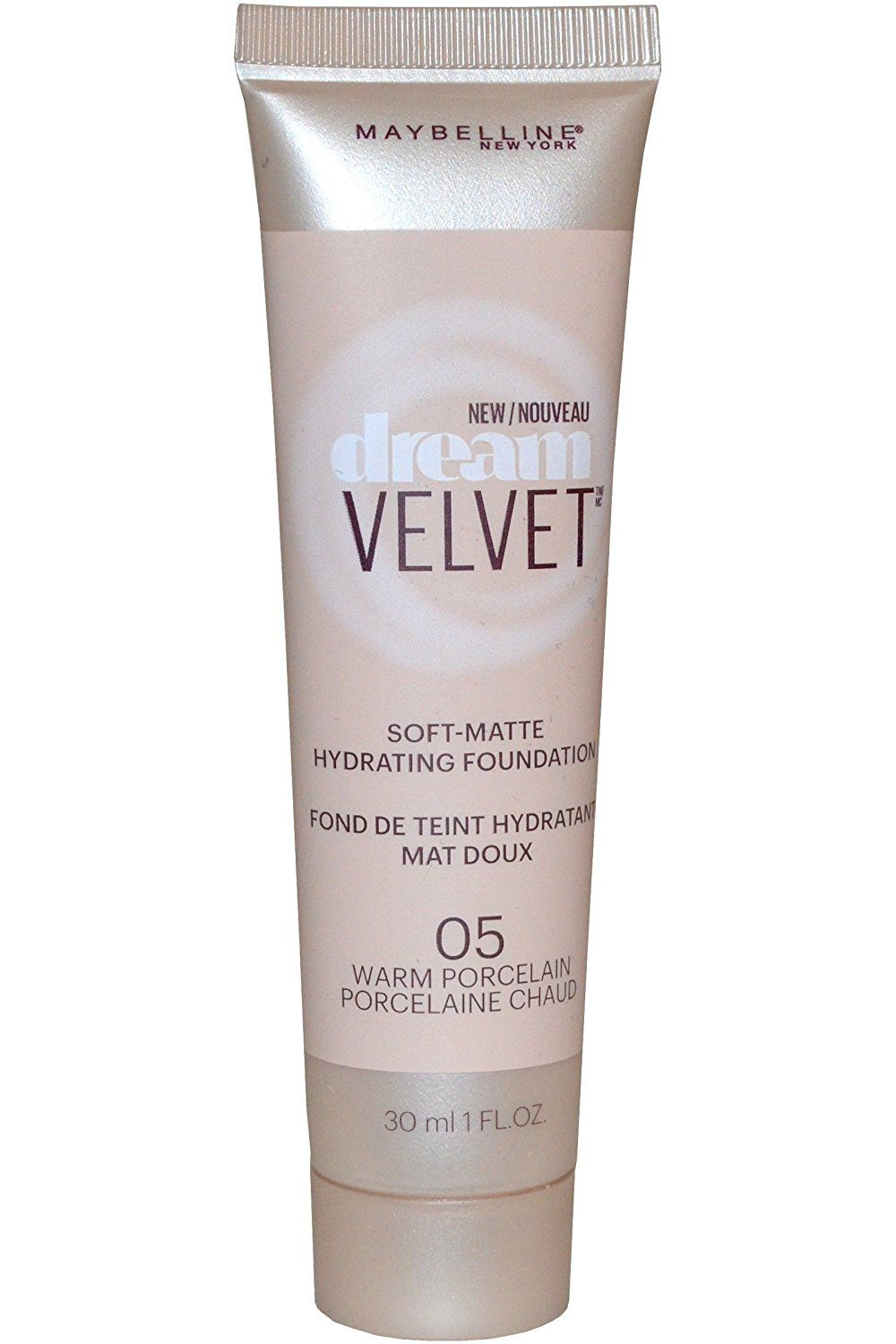 Maybelline New York Dream Velvet Soft Matte Foundation 30ml - 05 Warm Porcelain