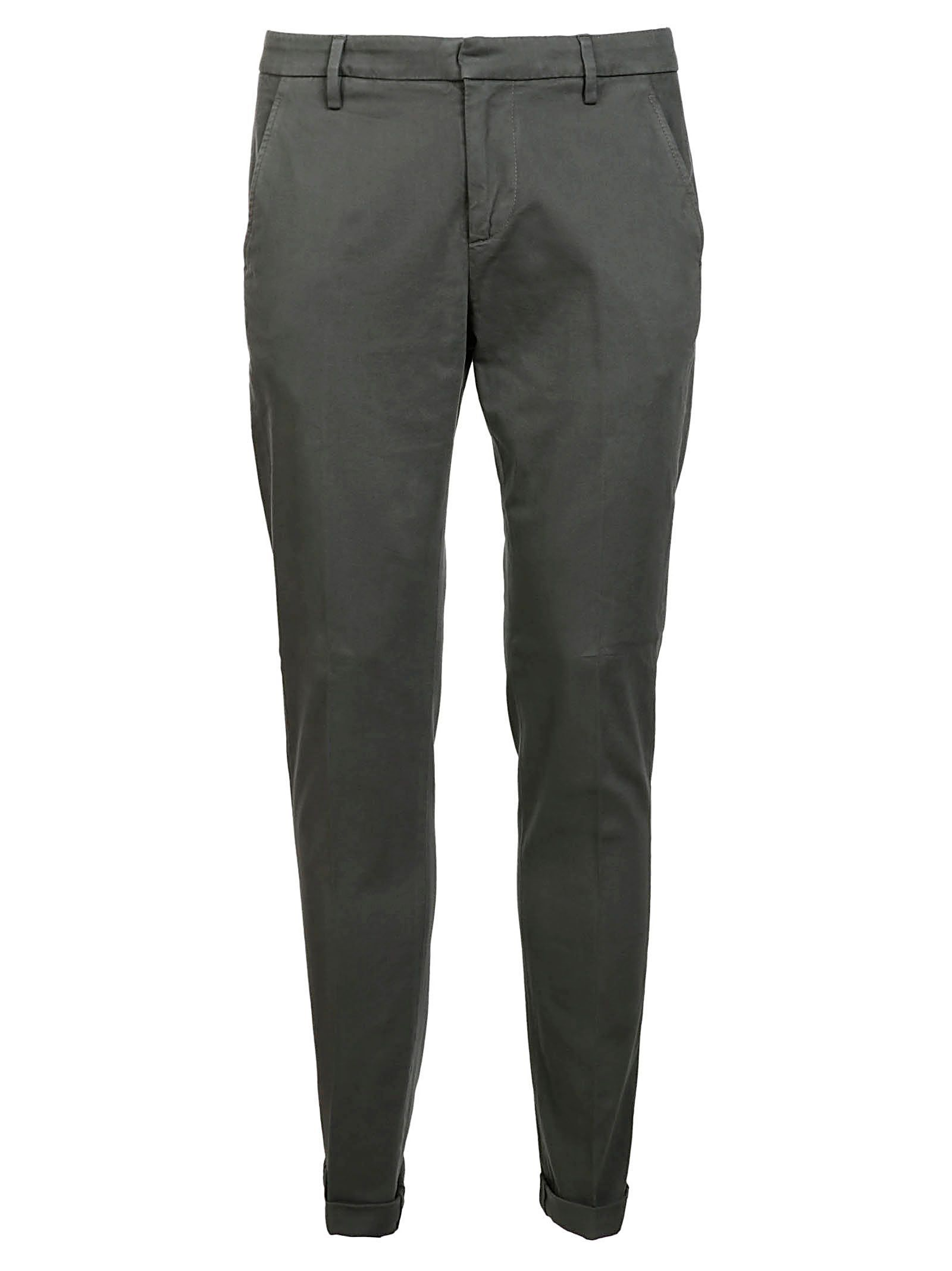 DONDUP MEN'S UP235GS0043PTD997 GREY COTTON PANTS