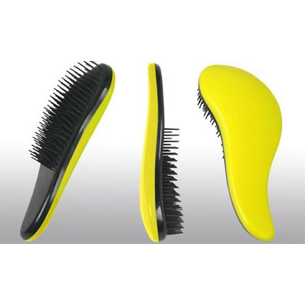 Envie Detangling Brush Yellow