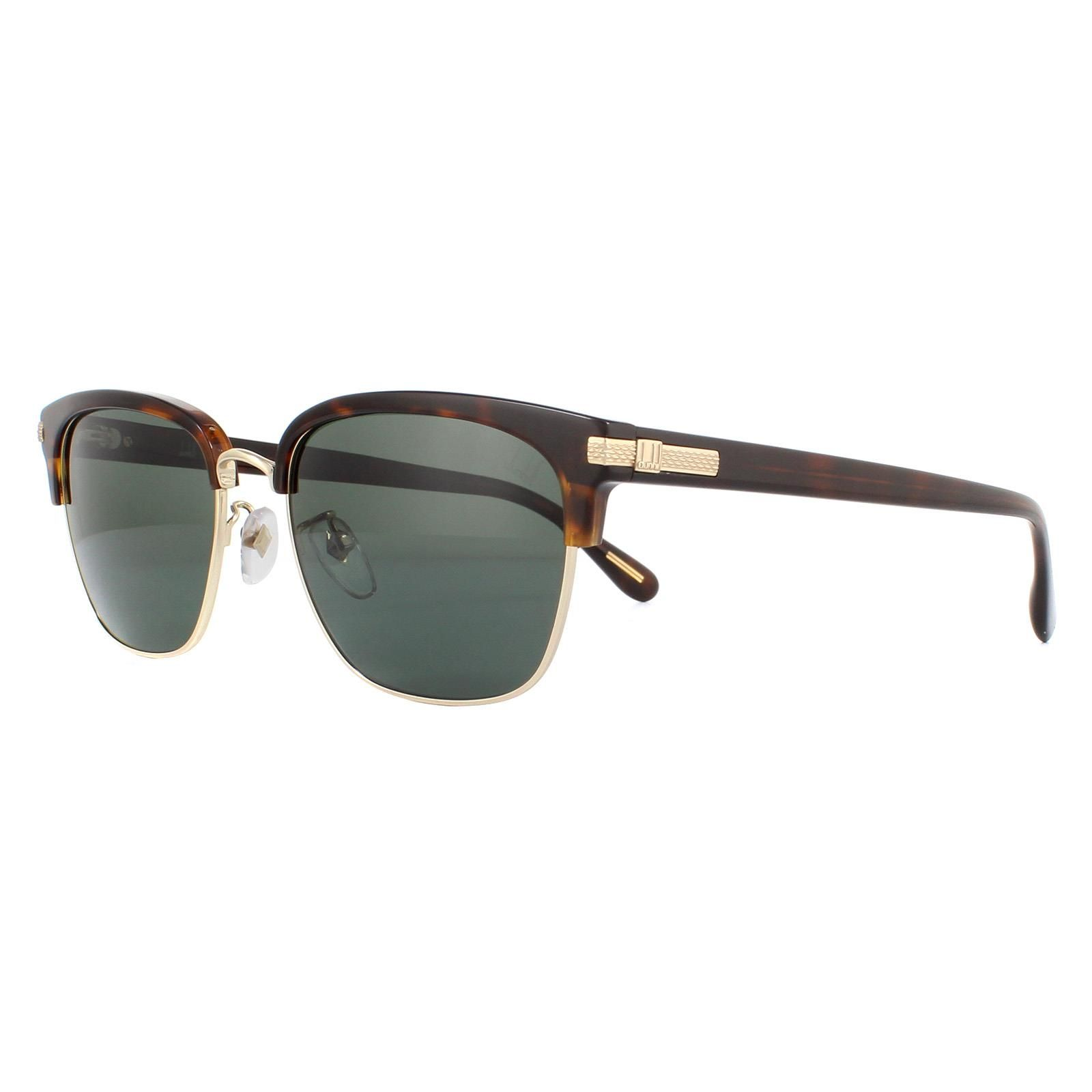 Dunhill Sunglasses SDH196M 300Z Shiny Rose Gold Black Some Grey