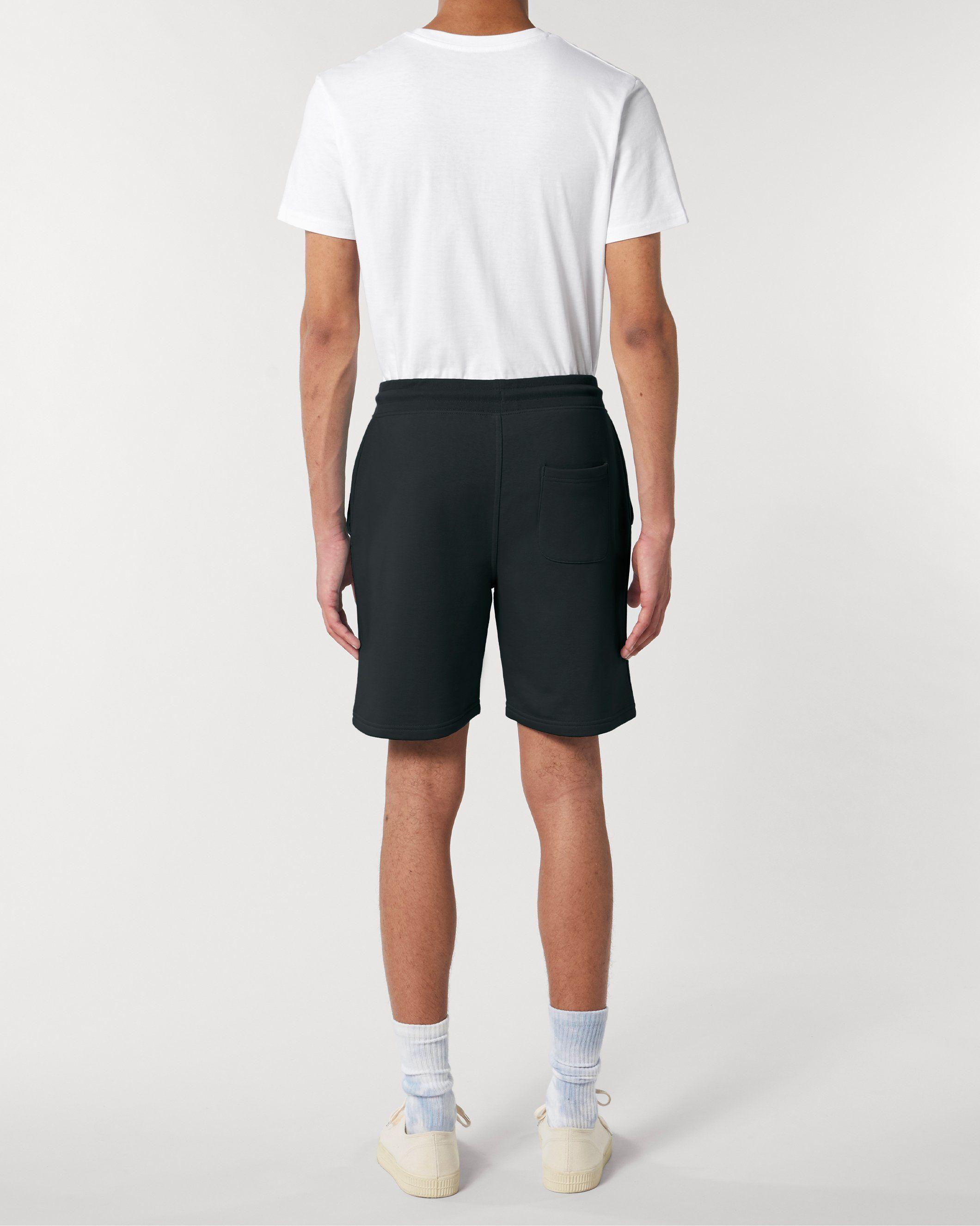 Vayu Unisex Jogger Shorts in Black