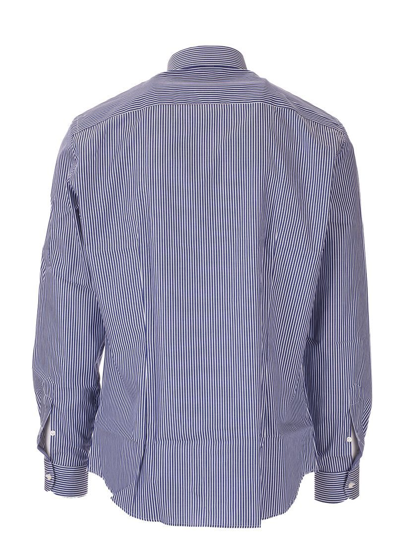 FAY MEN'S NCMA1392590RDZU807 BLUE COTTON SHIRT