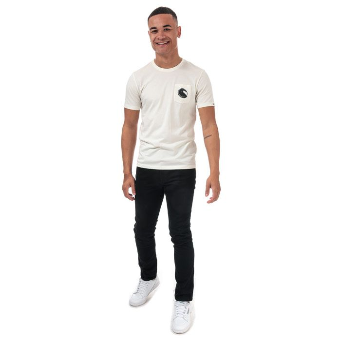 Men's C.P. Company Printed Goggle T-Shirt in White