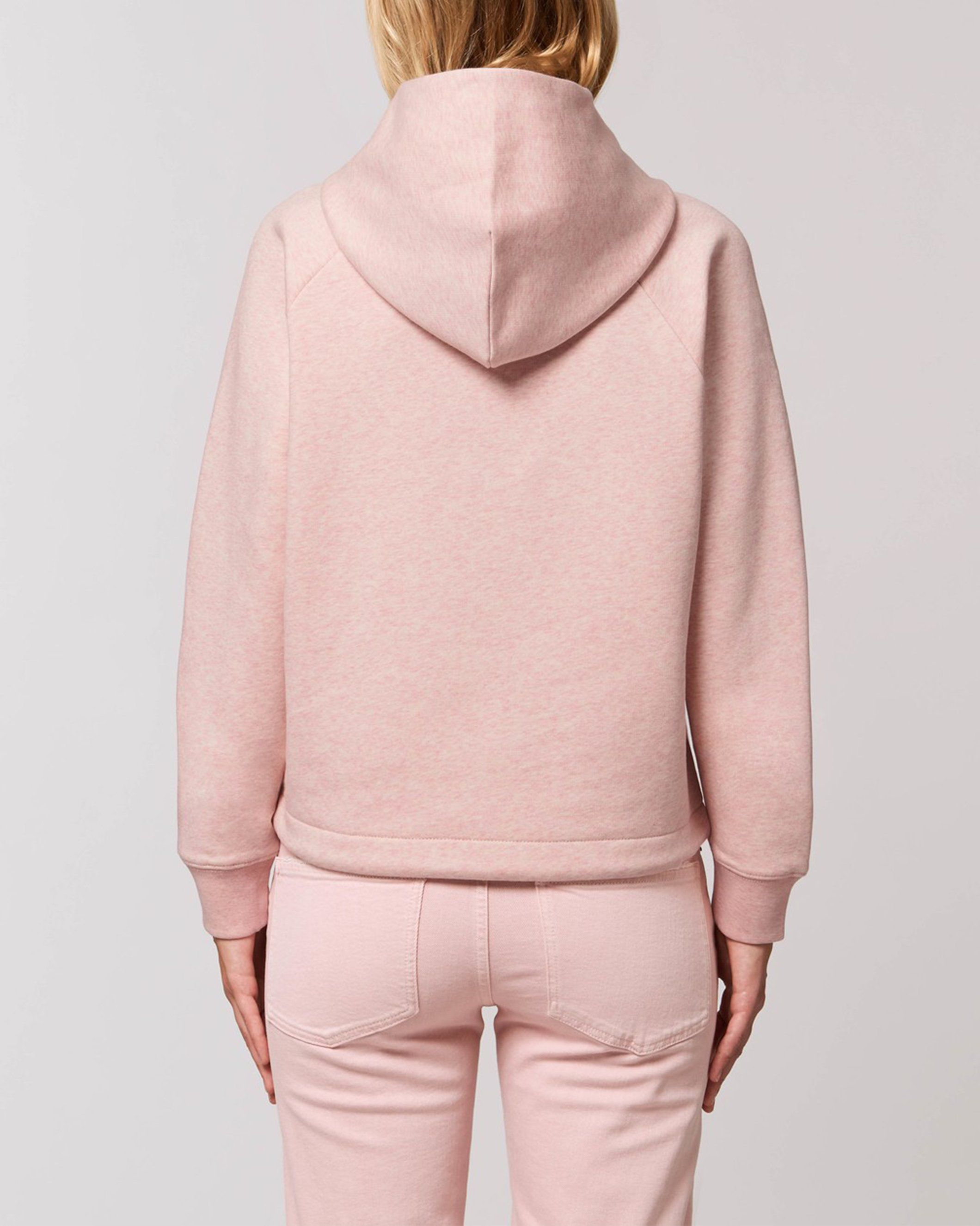 Udana Women's Cropped Hoodie in Pink
