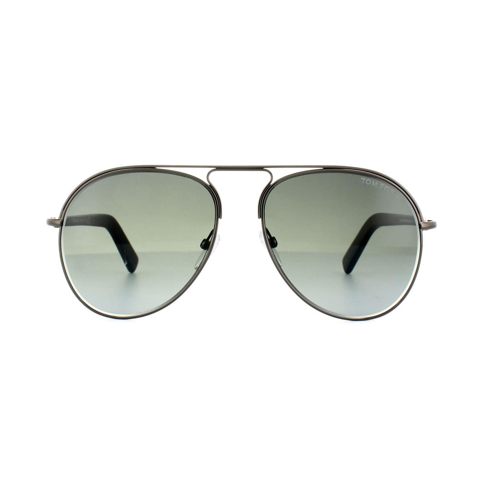 Tom Ford Sunglasses 0448 Cody 08B Shiny Anthracite Grey