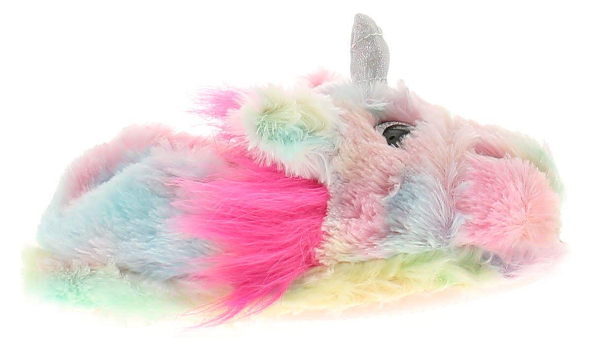 Wynsors unicorn girls kids novelty slippers pink