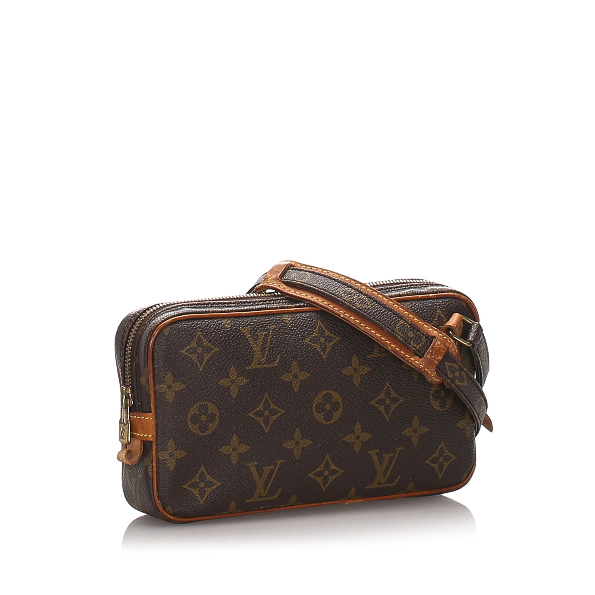 Vintage Louis Vuitton Monogram Marly Bandouliere Brown