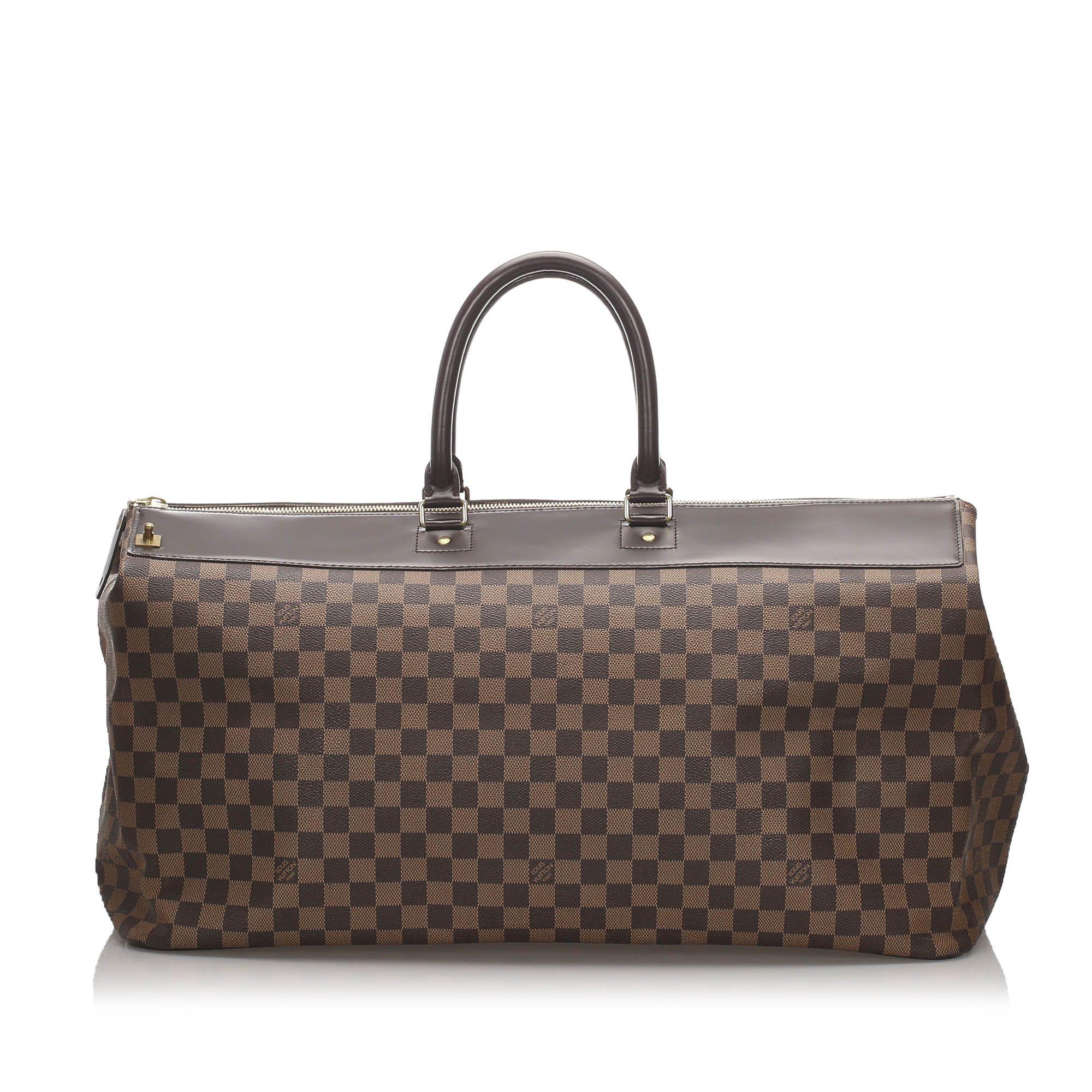 Vintage Louis Vuitton Damier Ebene Greenwich GM Brown
