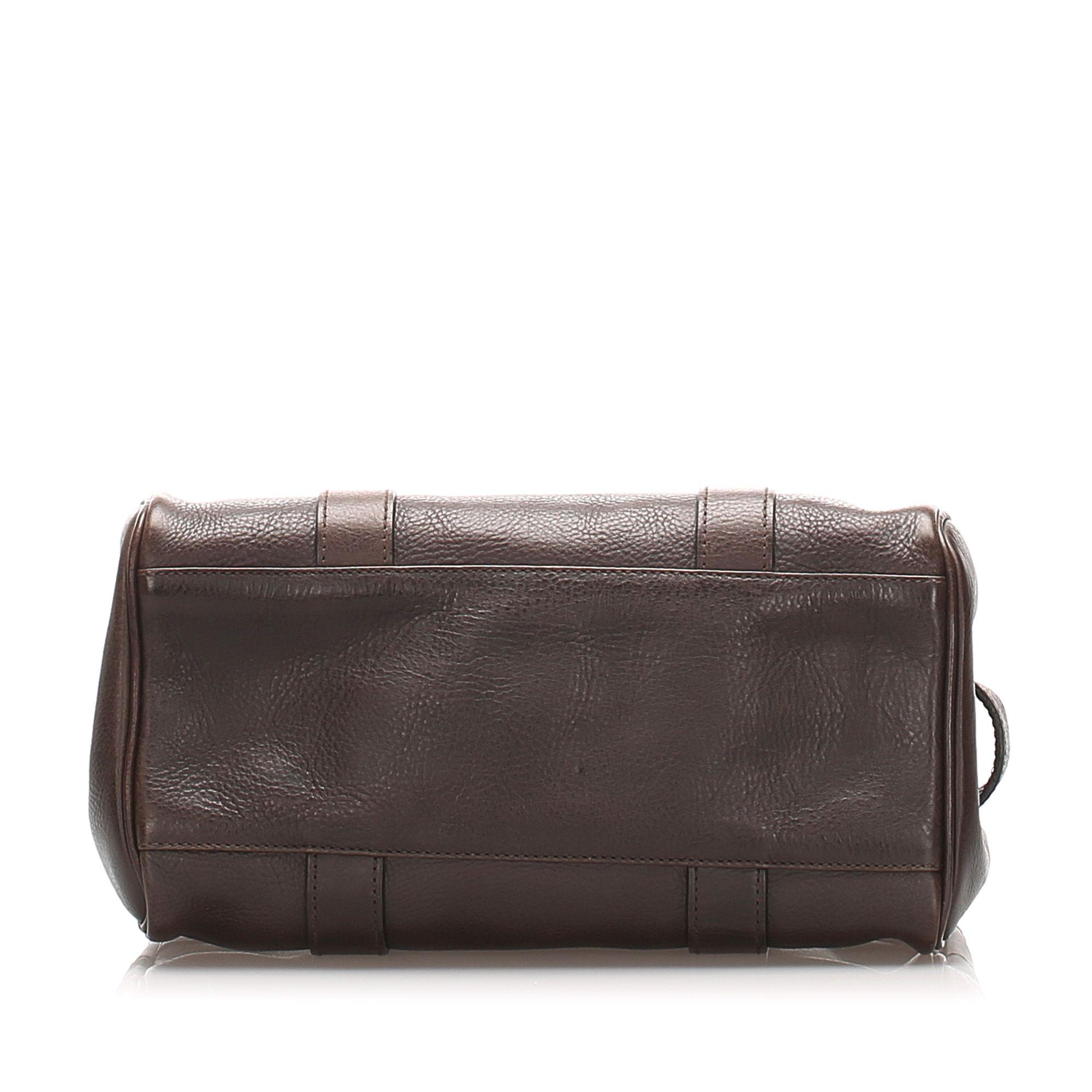 Vintage Mulberry Bayswater Leather Handbag Brown