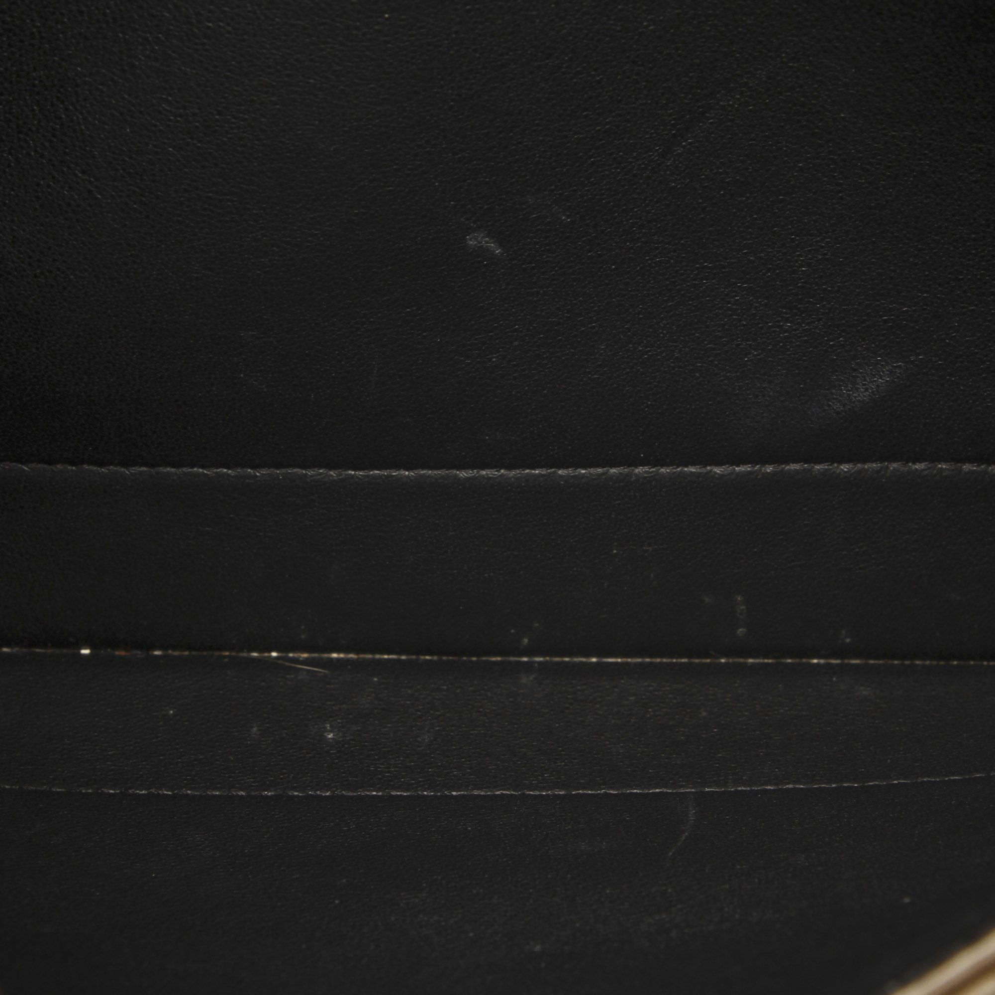 Vintage Celine Diamond Leather Shoulder Bag Black