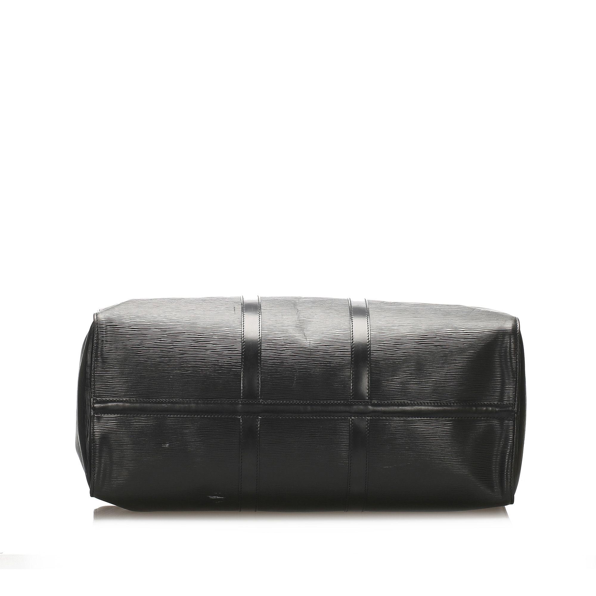 Vintage Louis Vuitton Epi Keepall 50 Black