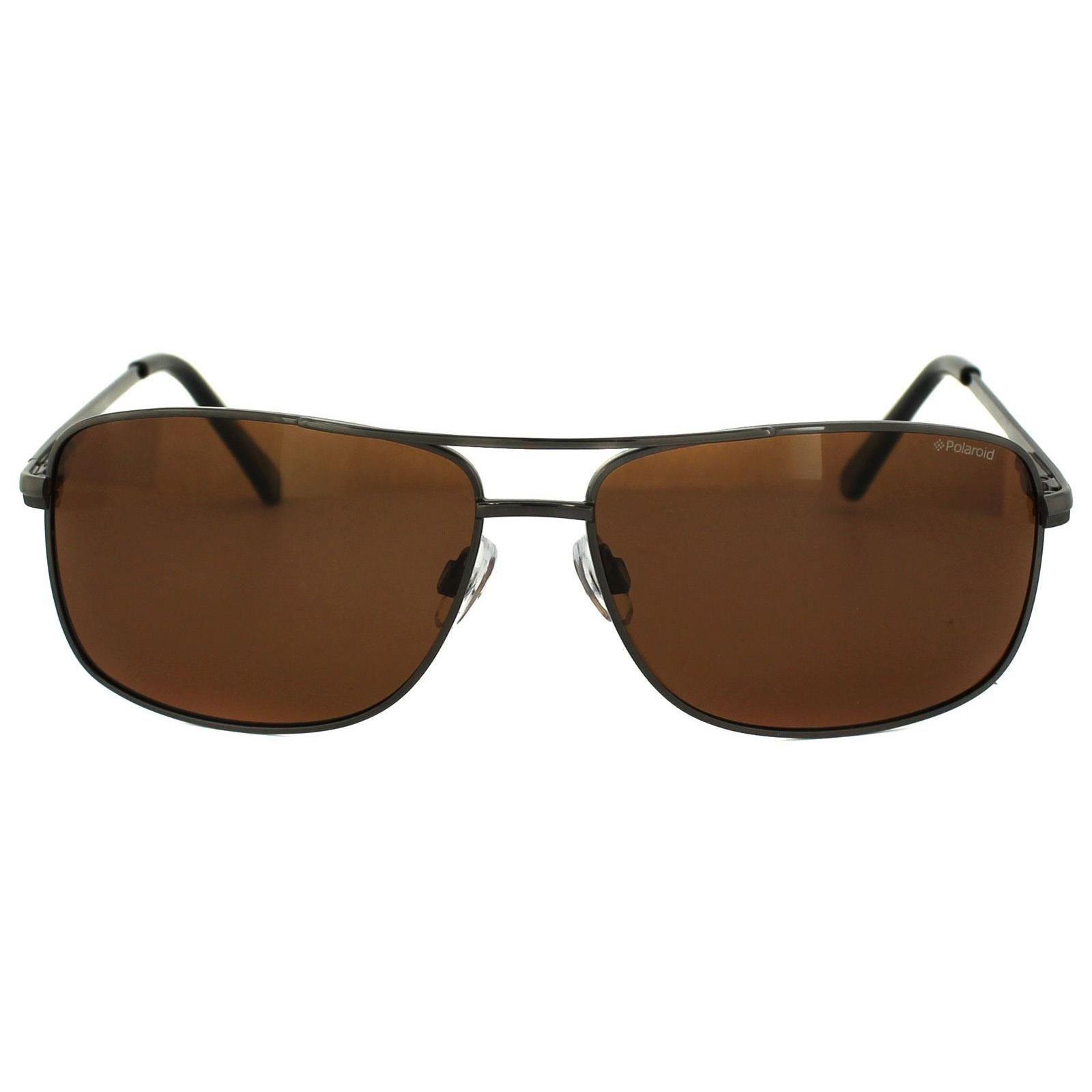 Polaroid Sunglasses P4409 BC5 HE Gunmetal Copper Polarized