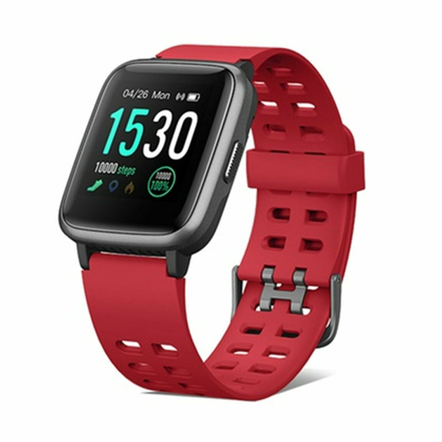 Aquarius 149 Fitness Watch Heart Rate & 7 Sports tracking mode Red