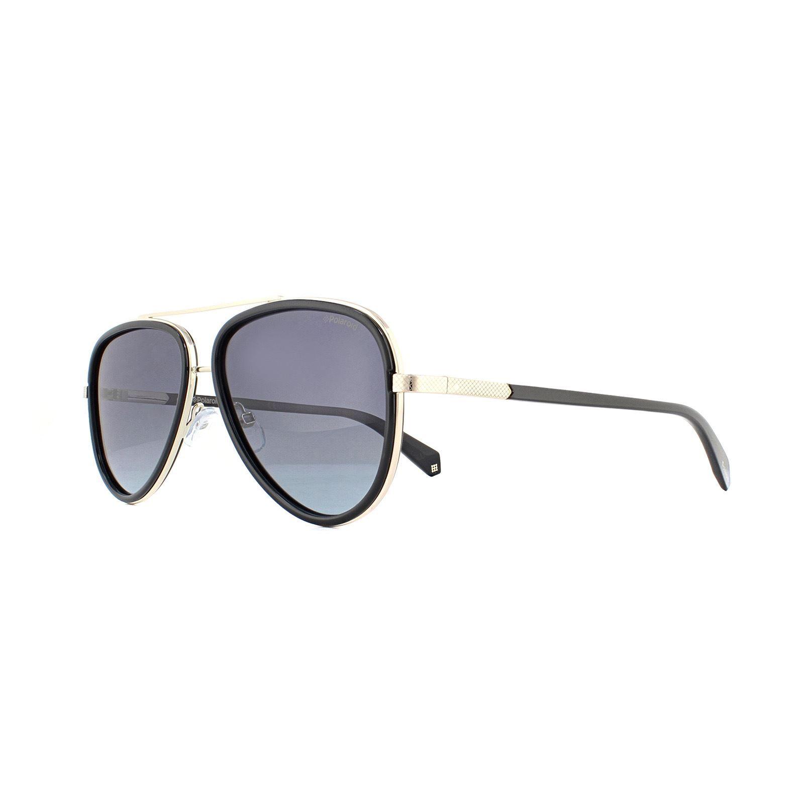 Polaroid Sunglasses PLD 2073/S 807 WJ Black Grey Gradient Polarized