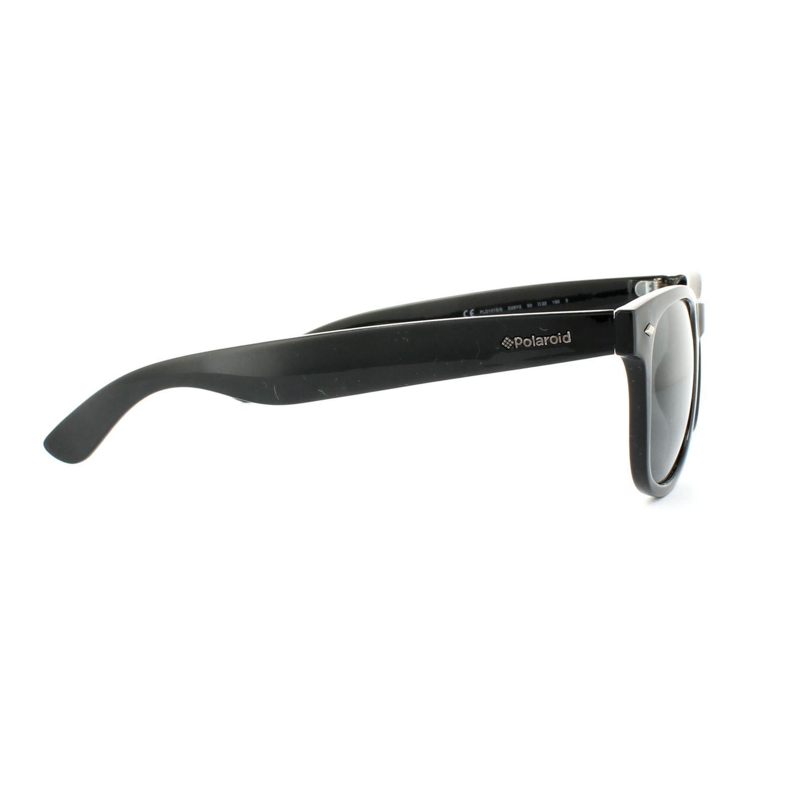 Polaroid Sunglasses PLD 1016/S D28 Y2 Shiny Black Grey Polarized