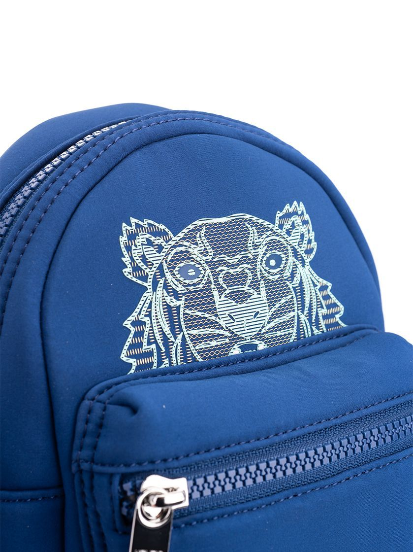 KENZO MEN'S FA55SF301F2276 BLUE POLYESTER BACKPACK