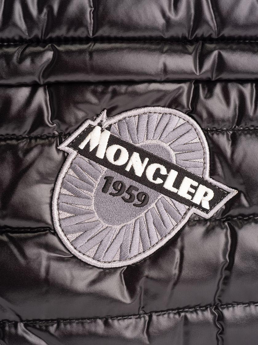 MONCLER MEN'S 008100001AL5999 BLACK POLYAMIDE DOCUMENT HOLDER