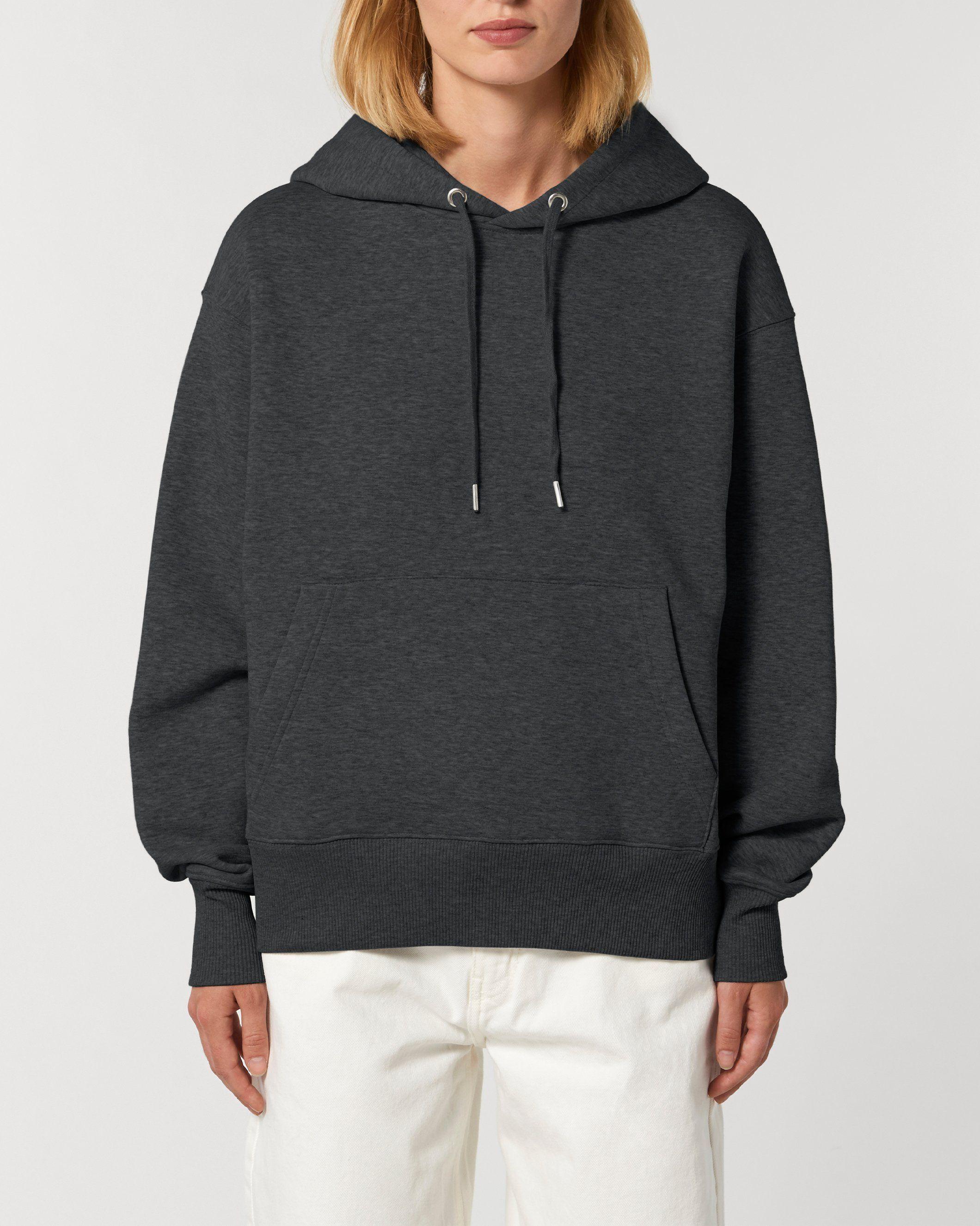Karma Unisex Relaxed Hoodie in Grey