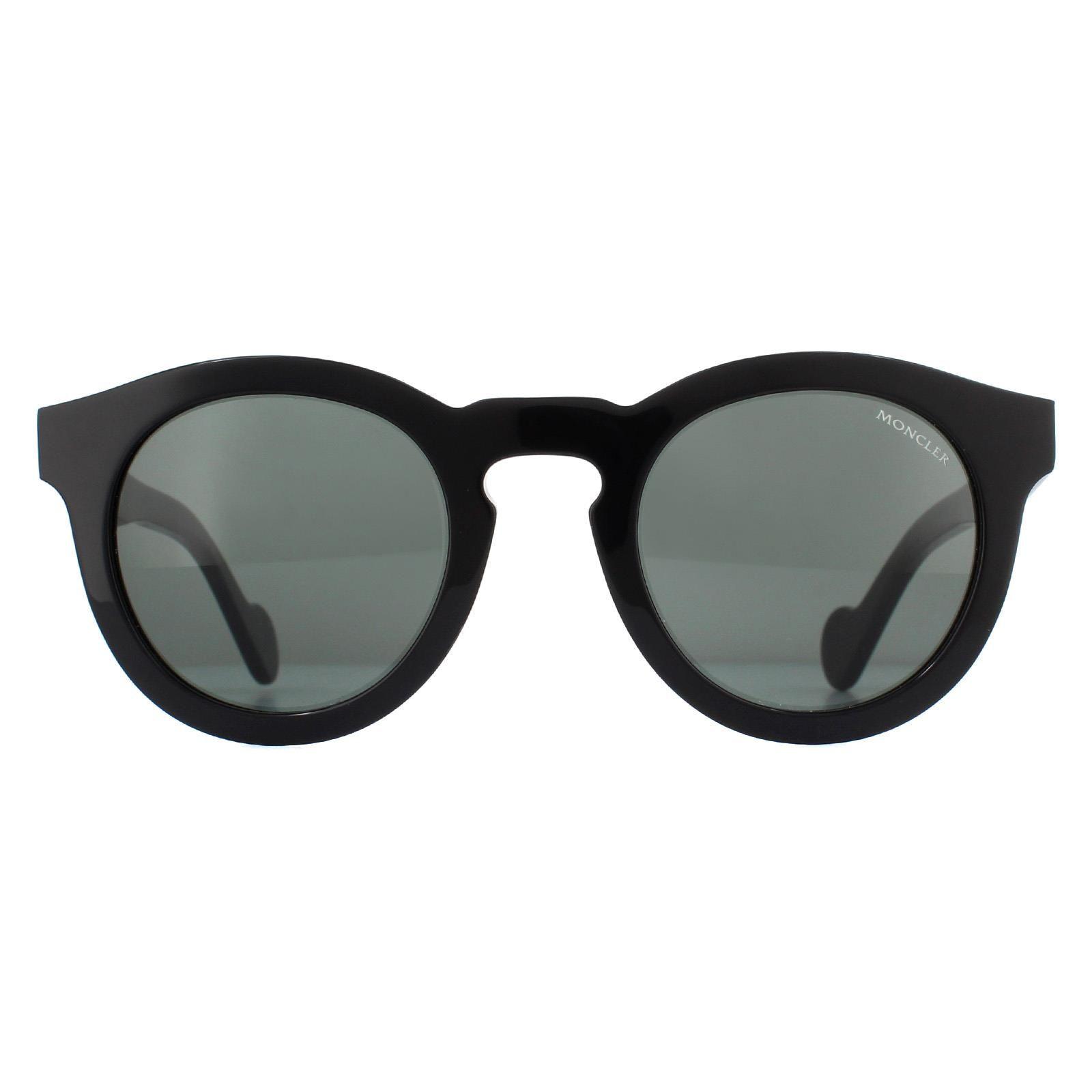 Moncler Sunglasses ML0007 01N Black Green
