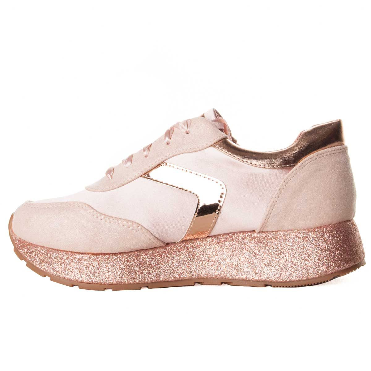 Montevita Chunky Sneaker in Pink