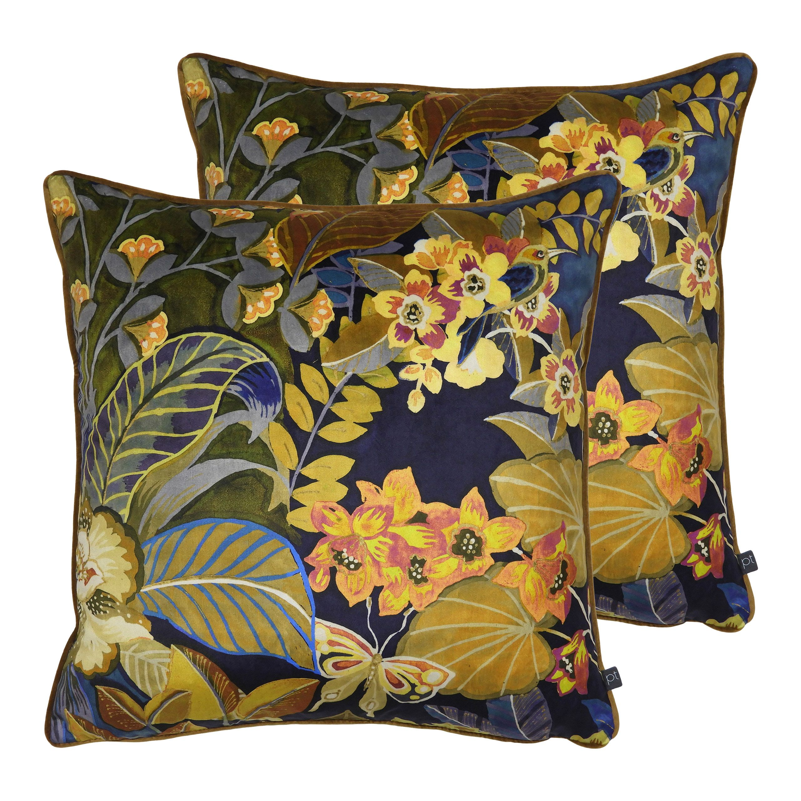 Hidden Paradise Cushions (Twin Pack)