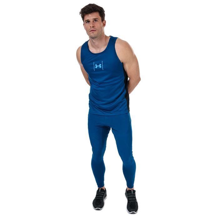 Men's Under Armour Speed Stride Shock Vest in Blue