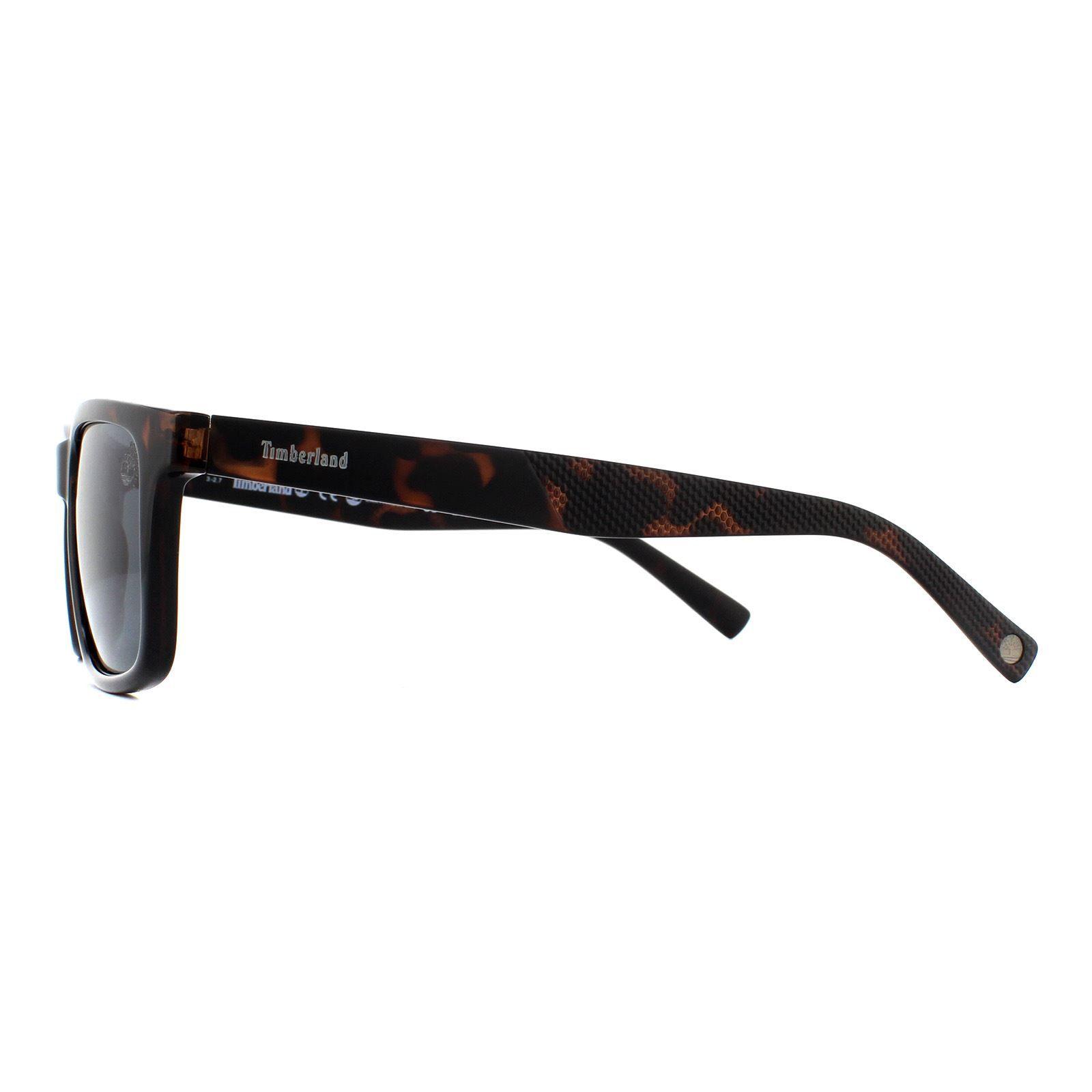 Timberland Sunglasses TB9125 52D Dark Havana Grey Polarized