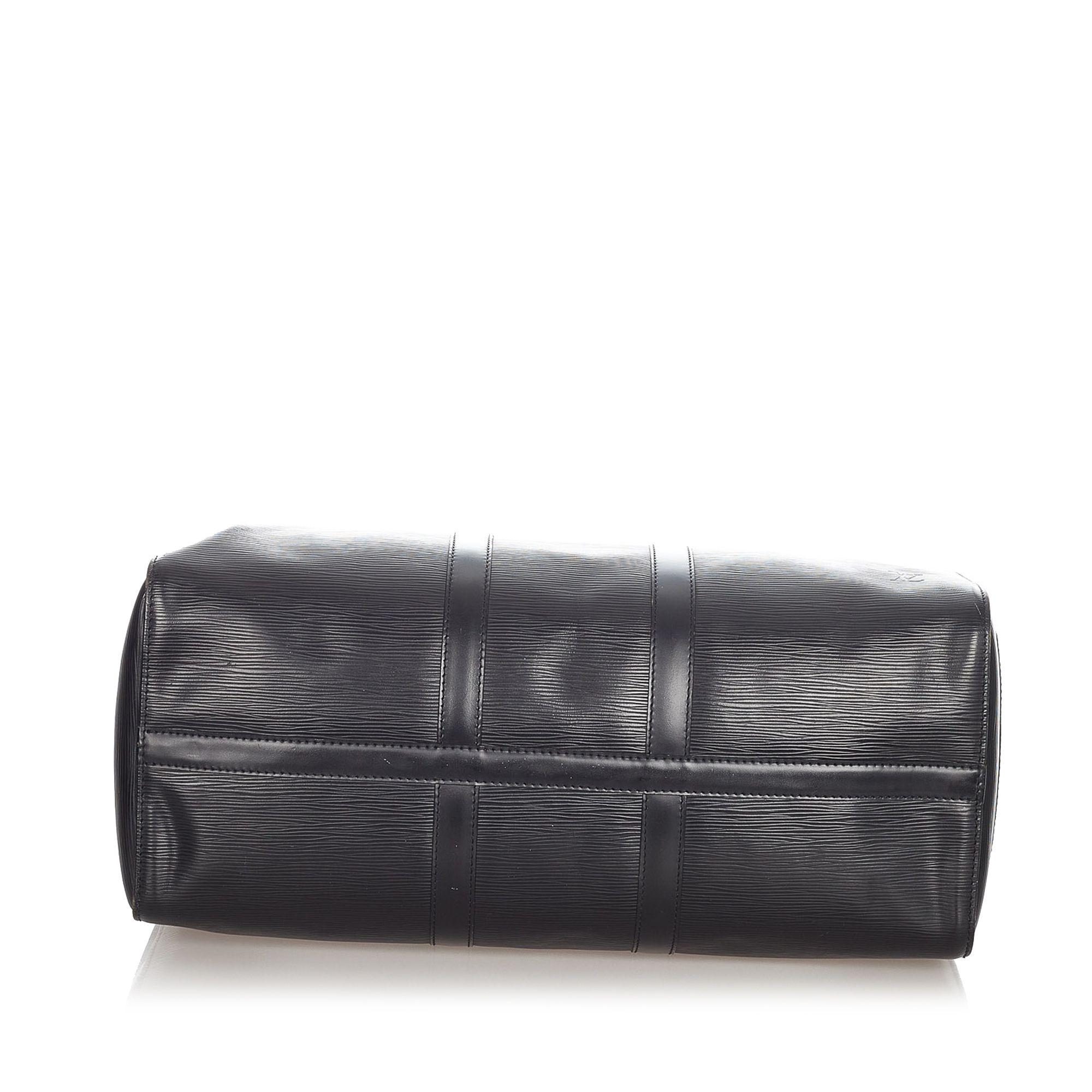 Vintage Louis Vuitton Epi Keepall 45 Black