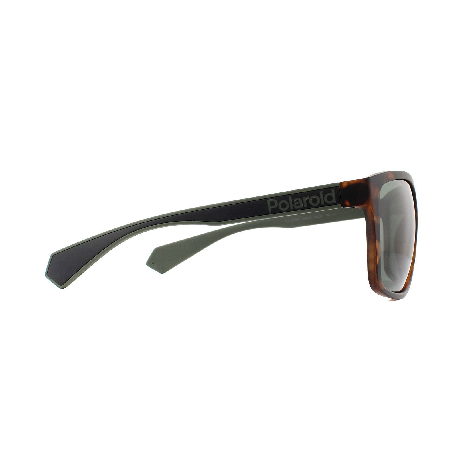 Polaroid Sunglasses PLD 2079/S PHW UC Havana Green Green Polarized