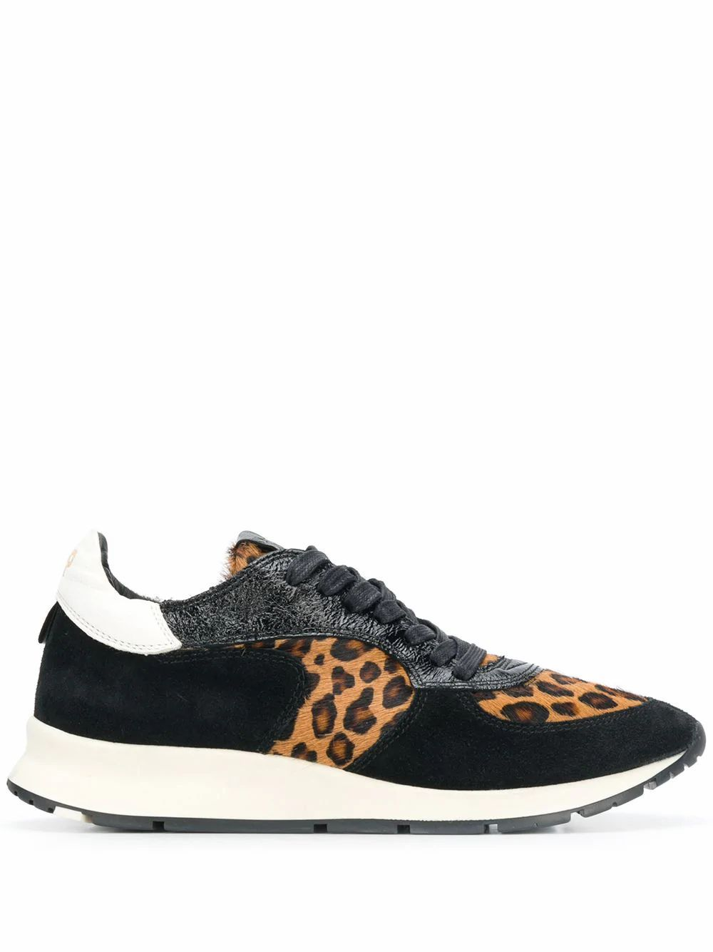 PHILIPPE MODEL WOMEN'S NTLDLE01 MULTICOLOR LEATHER SNEAKERS