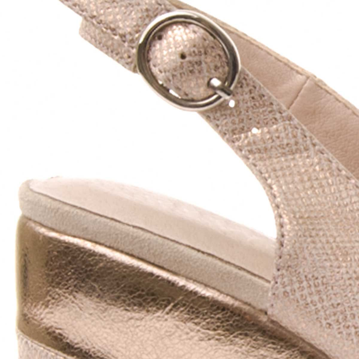 Montevita Platform Sandal in Pink
