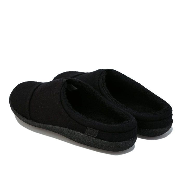 Men's Toms Berkeley Slippers in Black