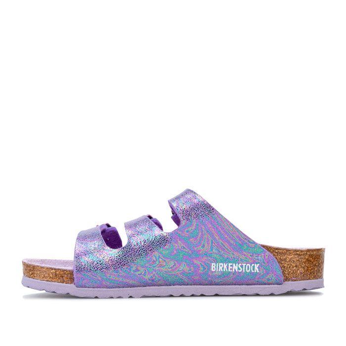 Girl's Birkenstock Children Florida Sandals in Violet