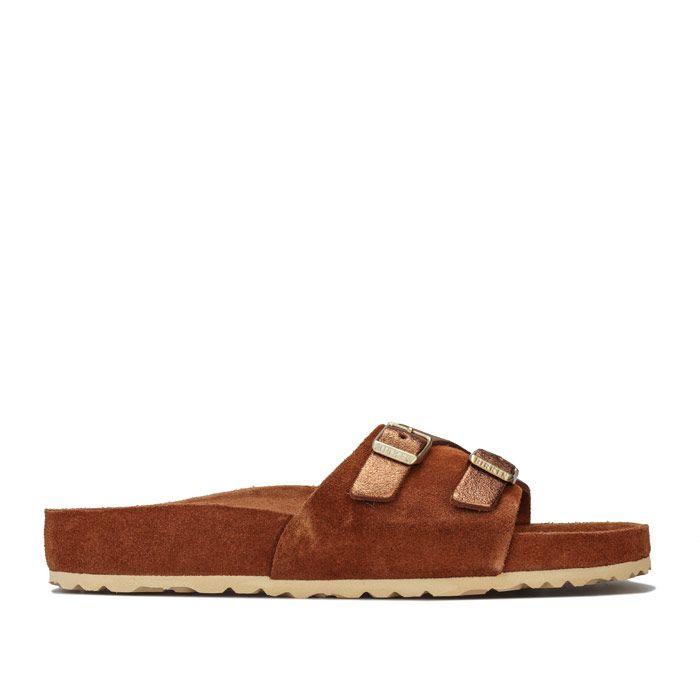 Women's Birkenstock Vaduz Exquisite Sandals in Brown
