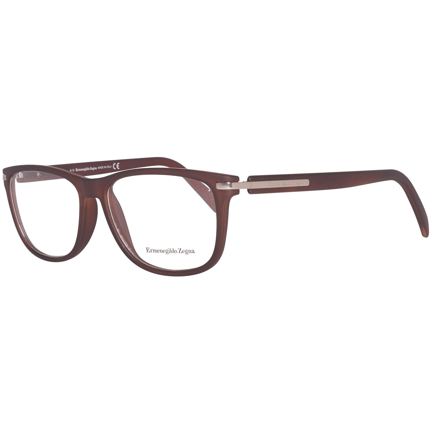 Ermenegildo Zegna Optical Frame EZ5005 049 55 Men Brown