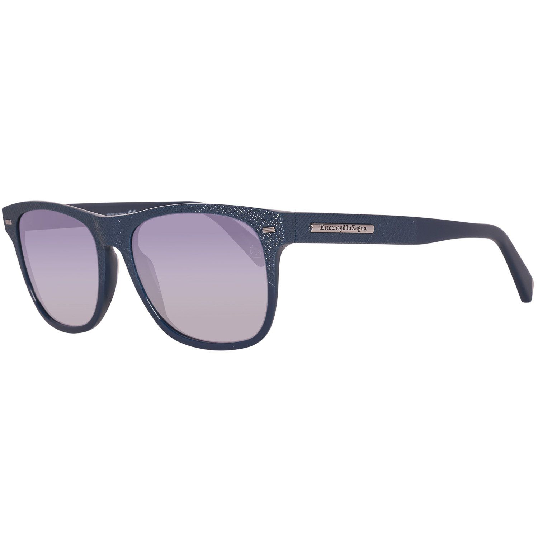Ermenegildo Zegna Sunglasses EZ0020 91B 54 Men Blue